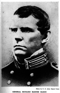 Richard Barnes Mason United States general