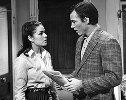 Richard Hatch Karen Gorney All My Children 1970.JPG