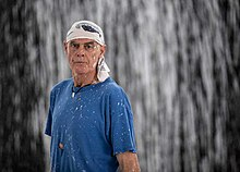 Richard Long portrait by Steve Jackson 2012.jpg