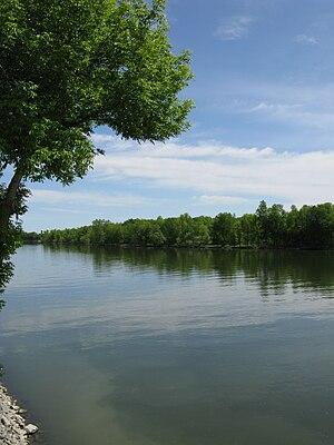 Richelieu River - Richelieu River at Saint-Marc-sur-Richelieu