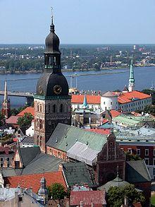 hvad hedder hovedstaden i letland