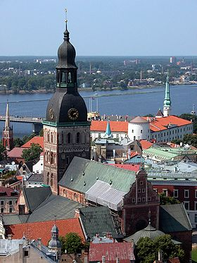 Image illustrative de l'article Cathédrale protestante de Riga