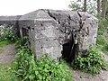 Rijksmonumentcomplex 528582 Asschaterkade 09, bunker 4 met schietbeschadiging.JPG
