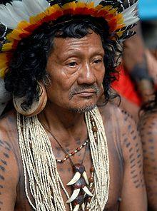 Yanomami Body Painting