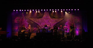 Ringo Starr & His All-Starr Band rock supergroup led by Ringo Starr