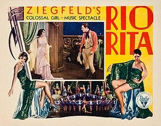 John Boles (actor) - Lobby card for Rio Rita (1929)