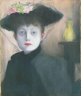 József Rippl-Rónai - Image: Rippl Parisian Woman 1891