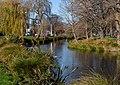 River Avon near John Burn Bridge at Park Terrace, Christchurch, New Zealand.jpg