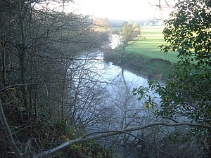 Bransford - View of River Teme, situated in Bransford