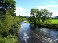 River Usk, downstream from Aber-bran Bridge - geograph.org.uk - 918048.jpg