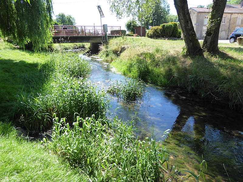 La rivière Aroffe à Aroffe.