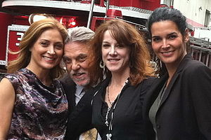 Bruce McGill - Sasha Alexander, Bruce McGill, Janet Tamaro and Angie Harmon in September 2011