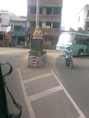 Periyakulam - A busy road junction, Periyakulam