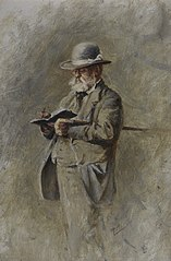 Samuel Bough, 1822 - 1878. Landscape painter
