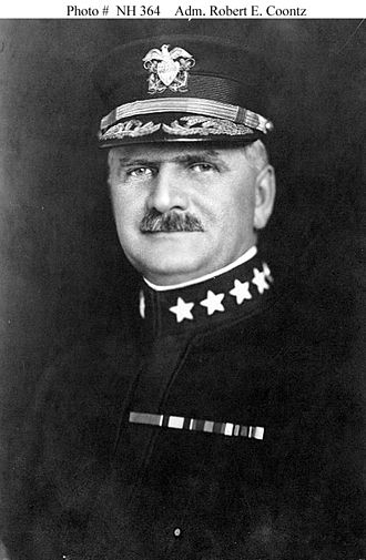 Chief of Naval Operations - Image: Robert E. Coontz