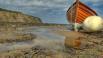 Robin Hood's Bay - Robin Hood's Bay beach