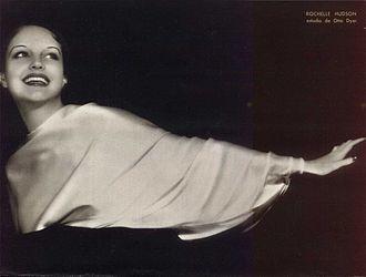 Rochelle Hudson - Rochelle Hudson in Argentina magazine