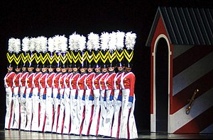 "The Rockettes - ""Parade of the Wooden Soldiers"" at the Christmas Spectacular"