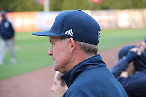 Georgia Southern Eagles baseball - Head coach Rodney Hennon