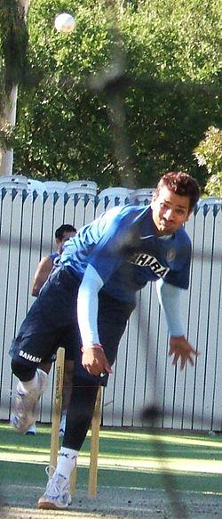 Rohit Sharma bowling.jpg