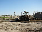 Romanian Army Bulldozer in Irak.jpg