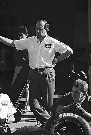 Ron Dennis - Dennis at the 1991 United States Grand Prix at the Phoenix street circuit.