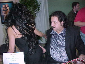 Ron Jeremy - Jeremy at CES, January, 2000