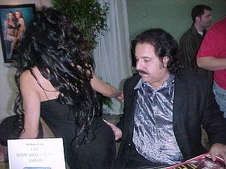 Ron Jeremy - Jeremy at CES, January, 2000