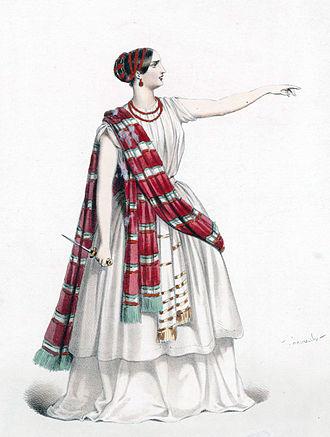 Robert Bruce (opera) - Rosine Stoltz as Marie