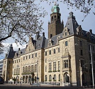 College van burgemeester en wethouders - Rotterdam City Hall