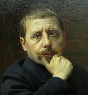 Rémy Cogghe - Self-portrait (1913)
