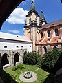 Roudnice nad Labem klášterní ambit 20200622.jpg