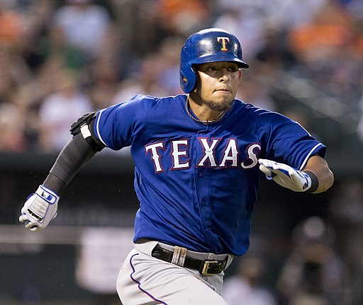 Rougned Odor on July 1, 2014