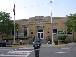 Royal Oak, Michigan - The U.S. post office in Royal Oak