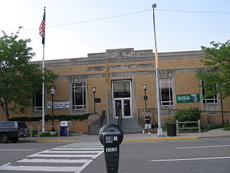 Going postal - The U.S. post office in Royal Oak