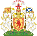 Royal Coat of Arms of the Kingdom of Scotland (Variant 1).svg