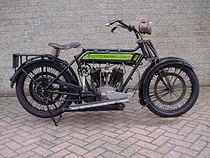 Royal Enfield Model 180 (965 cc) uit 1922