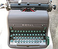 Royal HH Typewriter, 1956.jpg