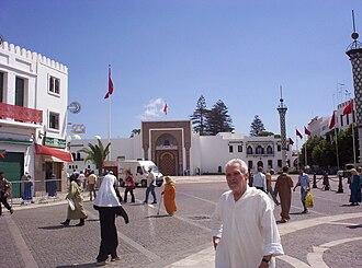 Mechouar - A Mechouar outside Royal Palace in Tétouan, Morocco