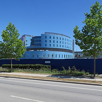 Cambridge Biomedical Campus - New Papworth Hospital