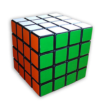 Parity (mathematics) - Rubik's Revenge in solved state