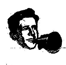 Rudy Vallée with a megaphone - Variety, December 4, 1929 02.jpg