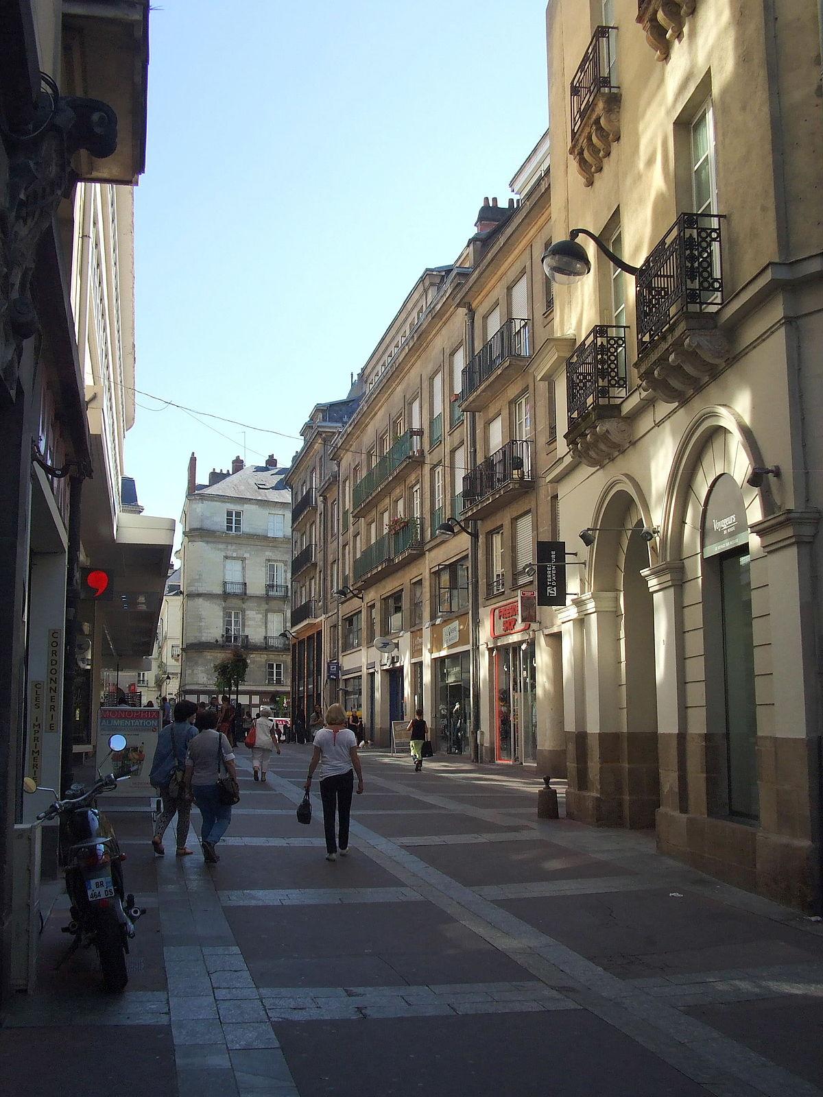 Rue Du Moulin  Nantes   U2014 Wikip U00e9dia