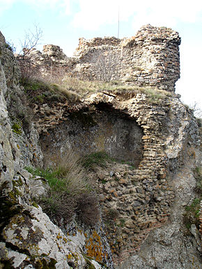 Ruin remains of the castle of Kojori.jpg