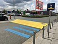 Rumble trips and pedestrian crossing at the parking of IKEA in Würzburg.jpg