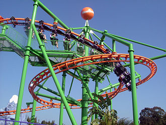 Escape from Madagascar - Image: Runaway Reptar Roller Coaster