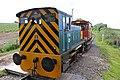 Ruston & Hornsby diesel locomotive - Helston Railway (geograph 5416385).jpg