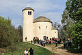 Rutunda svatého Jiří s horou Říp 03.JPG