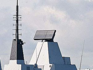 S1850M - S1850M radar on HMS Daring