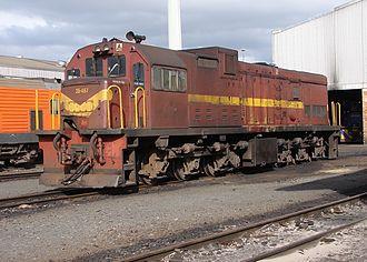 1976 in South Africa - Class 35-400 (GE U15C)